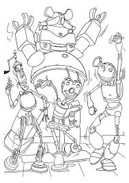 coloring robots coloring pages 16 coloring kids