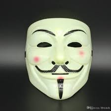 vendetta mask new halloween plastic anymous mask of guy fawkes