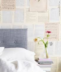 Paper Wallpaper by Covered The Walls In Old Book And Bible Pages We Used A Universal