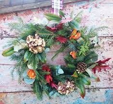 floristry workshop make a christmas wreath the makery bath