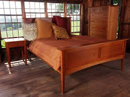 Natural Cherry Bedroom Furniture by Solid Cherry Archives Vermont Woods Studios