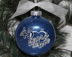 anniversary christmas ornament anniversary christmas ornament rustic anniversary gift tag