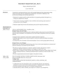 Sample Resume For A Nurse by Best Nursing Resume Examples