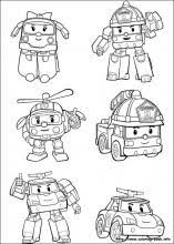 robocar poli coloring pages coloring book