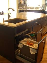 under sink trash pull out 30 unique undersink trash can ideas pictures remodel and decor