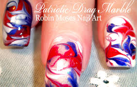 fourthofjuly nails nowatermarble watermarble design up today in