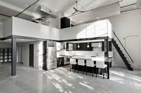 minimalist riverfront loft in pawtucket idesignarch interior