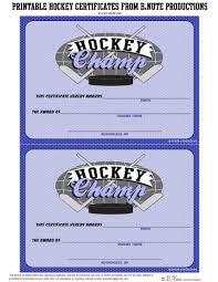 best photos of ice skating free printable certificate ice hockey