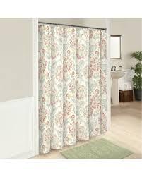Botanical Shower Curtains New Savings On Carlisle Botanical Shower Curtain White