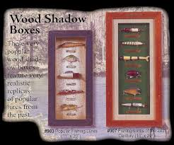 Hunting And Fishing Home Decor Fishing Lure Shadow Boxes Hunting Gifts Gifts For Hunters Gifts