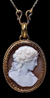 antique gold cameo necklace images Antique victorian shell cameo gold locket pendant antique jpg