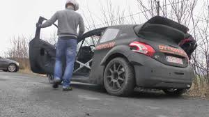 peugeot awd cars peugeot 208 proto test day 2 by dytko sport youtube