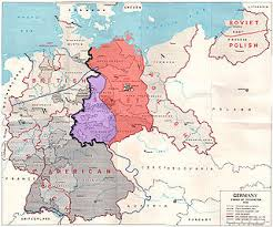 map of germany and surrounding countries with cities inner german border