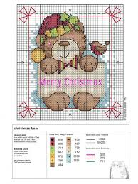 237 best teddy bears in cross stitch images on teddy