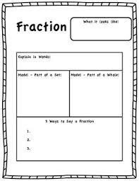 fraction model worksheet by michelle moon teachers pay teachers