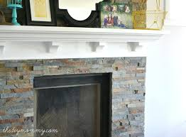 diy fireplace surround wood faux stone easy 1761 interior decor