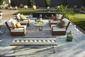 Indoor Patio Furniture by Fab Habitat Nantucket Striped Black White Indoor Outdoor Area Rug