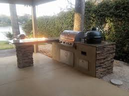 Big W Kitchen Appliances Kitchen Outdoor Kitchen With Big Green Egg In Conjunction With