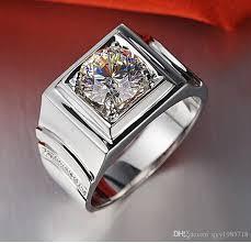 diamonds rings images 2018 stunning genuine male jewelry 1ct synthetic diamonds ring men jpg
