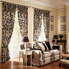 curtains for living room with brown furniture 3 seats sofa brown