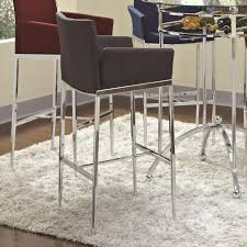 stainless steel bar stools with backs top 76 bang up table and bar stools leather metal wicker stainless