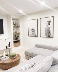 Large Wall Decor Ideas For Living Room Best 25 Basement Tv Rooms Ideas On Pinterest Living Room