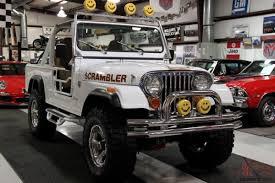 2017 jeep scrambler for sale other cj8