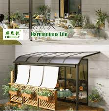 cutsomized metal patio cover shade waterproof patio furniture