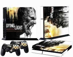 dying light playstation 4 stickers skin film for ps4 playstation 4 console controllers