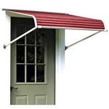 Awning Aluminum Door Awnings Aluminum And Fabric Choice Awnings