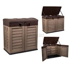 Outdoor Storage Box Bench Outdoor Plastic Box Bench Plastic Garden Storage Bench Garden