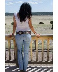 bullet blues western look with american made bombshell cowgirl jeans