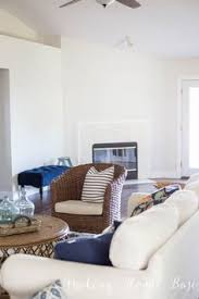 modernize your living or family room with behr paint in cotton