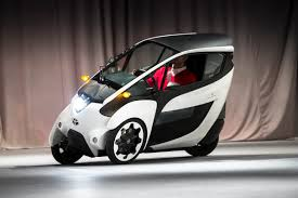 t0yta car toyota i road concept vehicle bridges the divide between the