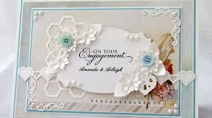 online engagement invitation card maker how to make a personalised engagement card diy crafts tutorial