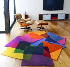 Modern Contemporary Area Rugs Colorful Accents At Contemporary Area Rugs Placed Beside