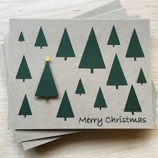 christmas tree holiday card set set of 8 christmas cards