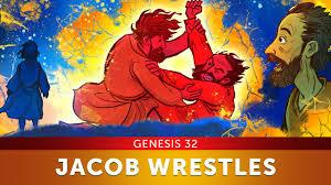 sunday lesson jacob wrestles with god genesis 32