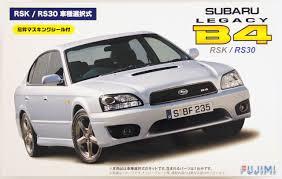subaru legacy convertible fujimi id 156 subaru legacy b4 rsk or rs 30 1 24 scale convertible