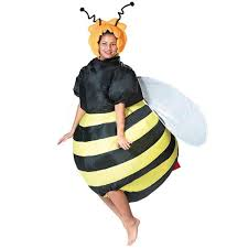 black suit halloween buy cheap party bar role play clothes lovely fancy inflatable bee