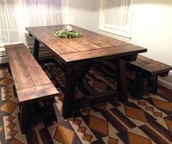 Rustic Farmhouse Dining Table And Chairs Cool Farm Dining Table Decor Refined Farm Table Distressed Wood
