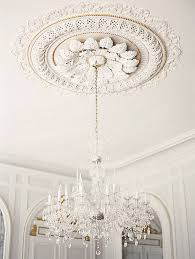 What Size Ceiling Medallion For Chandelier A Quick Hello Wishing You A Very Glamorous New Year Ceiling