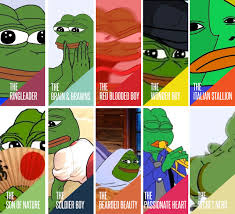 different types of pepe pepe the frog know your meme