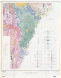 Sydney Map Sydney Basin 1 500 000 Geological Map Nsw Resources And Energy