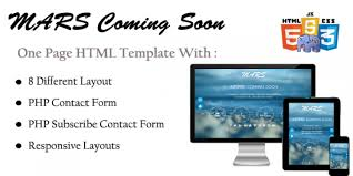html layout under mars html coming soon template html under construction website