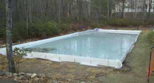 Backyard Rink Kit by Backyard Rink Liner Home Depot Outdoor Furniture Design And Ideas