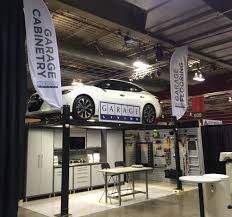 garage with living space above come see garage living at the calgary home design show