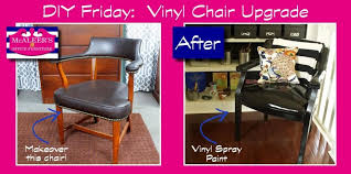 Vinyl Upholstery Spray Paint Diy Friday Upgrade This Chair With Vinyl Spray Paint Mcaleer U0027s