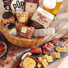 german gift basket gift idea basket includes smoked landjager german salami