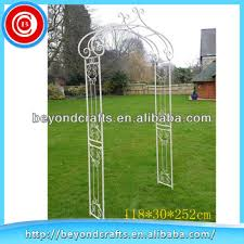 wedding arches to buy beautiful craft custom metal outdoor white garden wedding